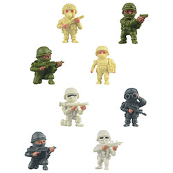 The Real Heroes Figures in 2'' Capsules (250 pcs)