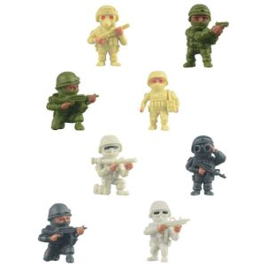 The Real Heroes Figures in 1.1'' Capsules (250 pcs)