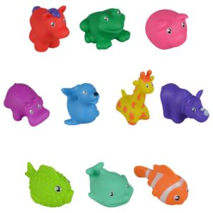 Rubber Animals 2in-3in Asst (50pcs)