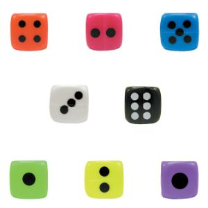 Big Dice in Bulk Bag (100 pcs)