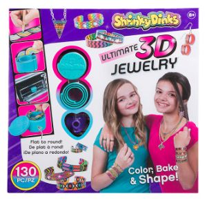 Shrinky Dinks 3D Bake and Shape Jewelry