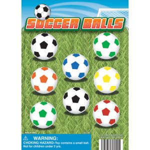 Soccer Balls Display Card