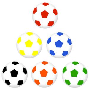 Mini Soccer Balls in Bulk Bag (100 pcs)