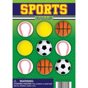 Sports Balls Display Card