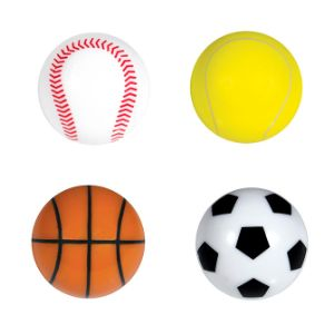 Mini Sports Balls in Bulk Bag (100 pcs)