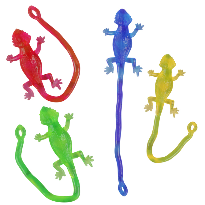 25in Sticky Lizard 144 Pcs Aa Global Industries