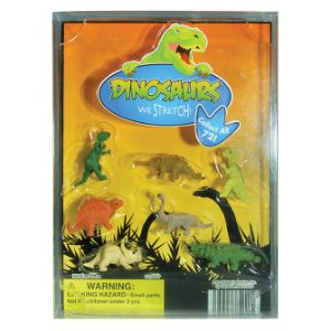 Stretchy Dinosaurs Blister Display