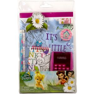 Disney Fairies Stationary Set with Calculator