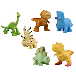 The Good Dinosaur Figures (2pk)