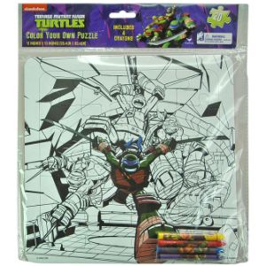 TMNT Color Large Puzzle