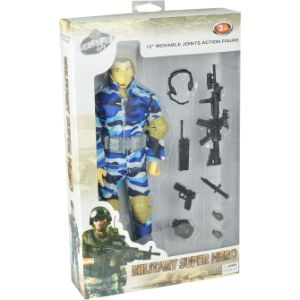 12in Soldier Action Figure with Accessories