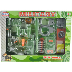 Elite Force 12pc Military Set