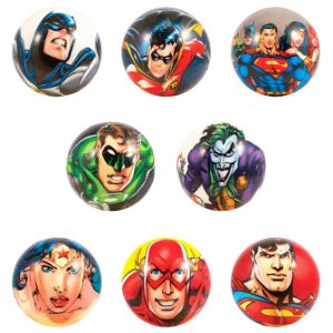 DC Comics Foam Balls in Bulk Bag (50 pcs)