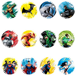 45mm DC Comics Hi-Bounce Balls (50 pcs)
