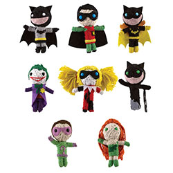 DC Comics Batman String Dolls in Bulk Bag (100 pcs)