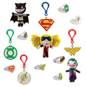DC Comics Batman String Dolls & Power Rings in 2'' Capsules (250 pcs)
