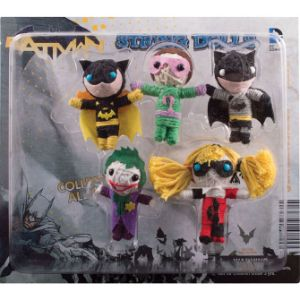 DC Comics Batman String Dolls Blister Display
