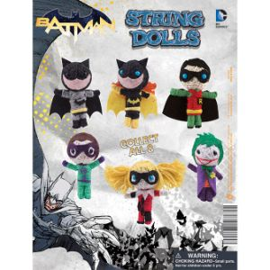 DC Comics Batman String Dolls Tomy Display Card