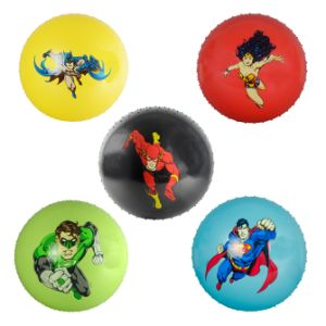 18'' Inflatable Knobby DC Comics Balls (48 pcs)