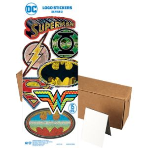 DC Comics Logo Stickers in Folders (300 pcs)