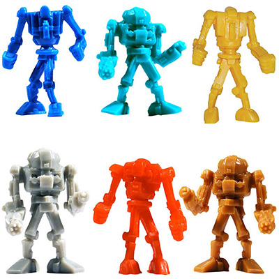 Warbots Figurines in Bulk Bag (100 pcs)
