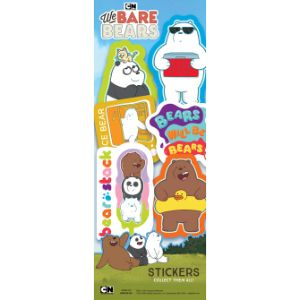 We Bare Bears Stickers Display Card