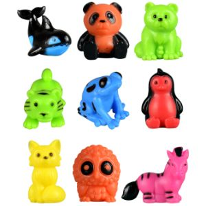 Zoo Crew Bright Bunch Figurines in Bulk Bag (100 pcs)