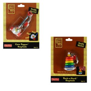 Fisher Price Assorted Keychain