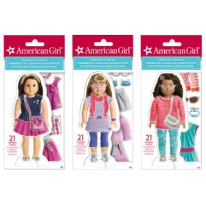 American Girl Fashion Paper Doll Clings