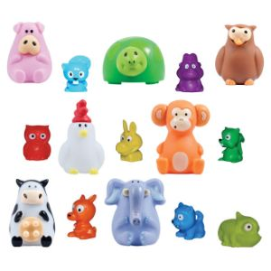 Animal Poppers & Mini-malz Mix in 2'' Capsules (250 pcs)
