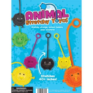 Animal Yo-Yo Balls Tomy Display Card
