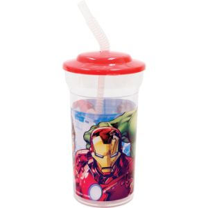 Avengers Tumbler with Straw