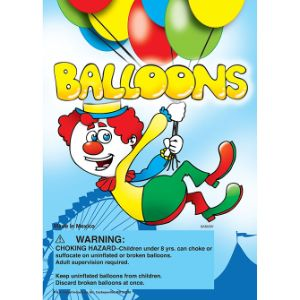 Balloons Display Card