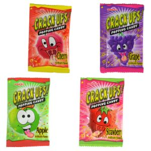 Crack Ups Popping Candy in 1.1'' Capsules (250 pcs)