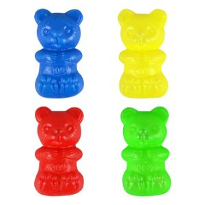 Plastic Bears 2.25'' Bag (144 pcs)