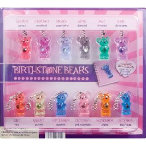 Birthstone Bears Blister Display