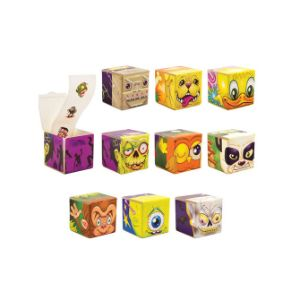 Cubesters Sticker Boxes in 2'' Capsules (250 pcs)