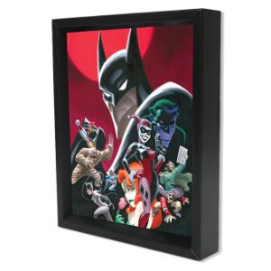 Batman Shadow Box Wall Art 3D