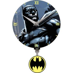 Batman Pendulum Mini Wall Clock