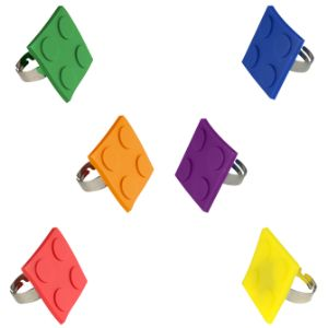 Block Mania Adjustable Ring (12 pcs)