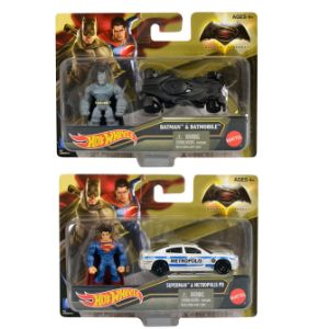 Hot Wheels Batman vs. Superman Die Cast Car