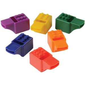 Block Mania Whistles 2'' (12 pcs)