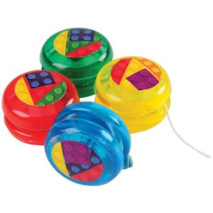 Block Mania Mini Yo-Yo's (12 pcs)