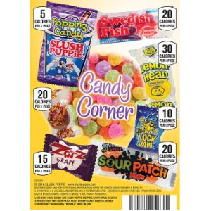 Candy Corner Display Card