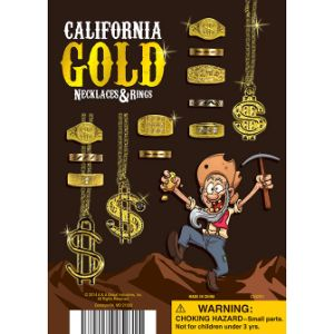 California Gold Display Card