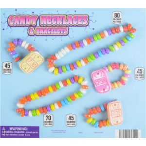 Candy Necklace & Bracelet Live Display