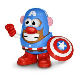Captain America Mr. Potato Head PopTater