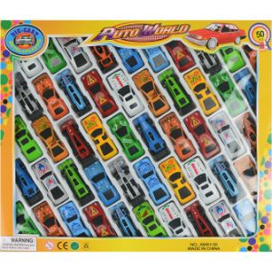 Toy Race Car 2.5'' Set 50 pk