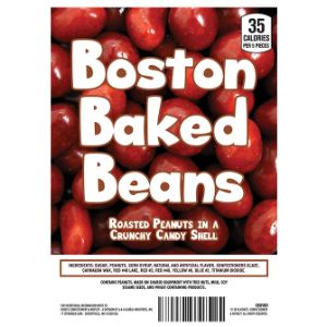 Boston Baked Beans Display Card