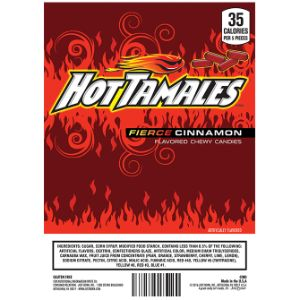 Hot Tamales Fierce Cinnamon Display Card